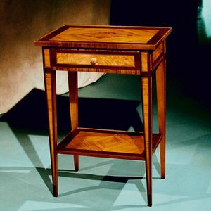 Art. 195 Ginevra, High bedside table inlaid