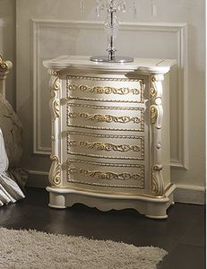 ART. 2972, Classic tall bedside table