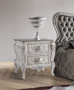 Art. 776, Classic bedside table with 2 drawers