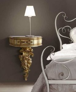 Art. 779, Wall-hung bedside table, classic style