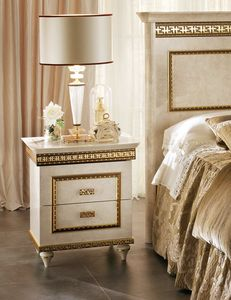 Fantasia nightstand, Luxurious nightstand in neoclassical style