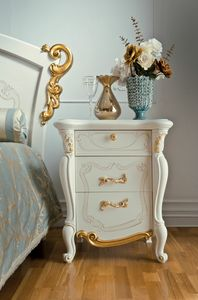 Fenice Art. 1306, Elegant bedside table, classic style