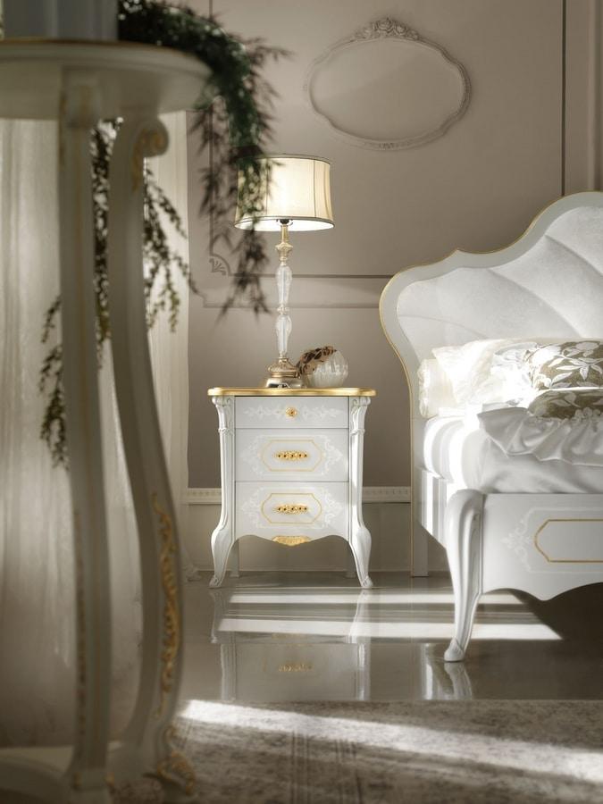 Giulietta Art. 3304 - 3406, Refined classic bedside table
