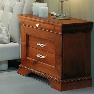 New '800 132/B, Carved bedside table, in classic style