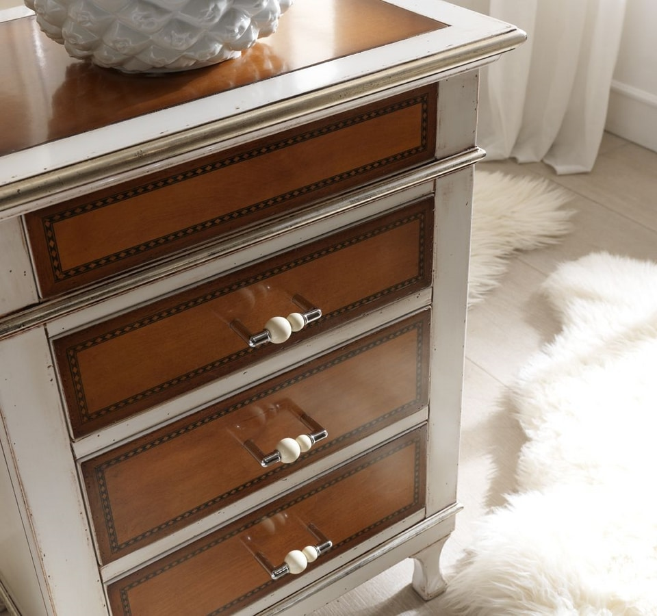 Senza Tempo nightstand, Timeless design bedside table