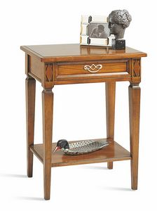Villa Borghese bedside table 5371, Directoire style bedside table