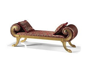 1740/L, Benches with upholstered seat