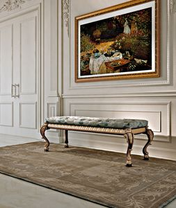 Art. 800/B, Padded classic bench