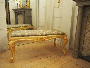 BENCH VENEZIANA ART. SD0013, Padded bench, Venetian style