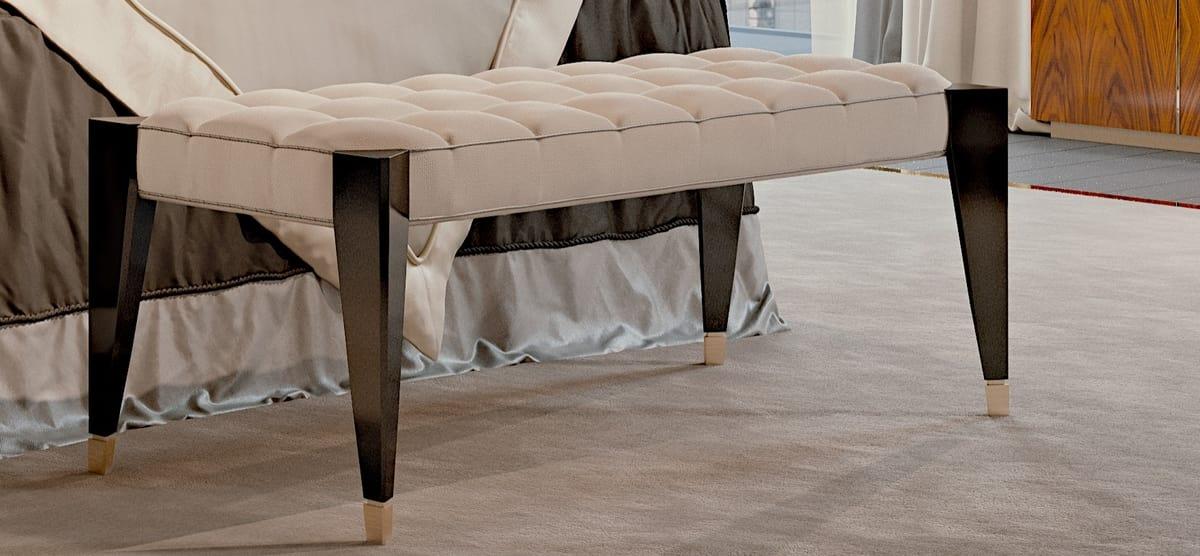 PARK AVENUE Bench, Capitonné bench, luxury style