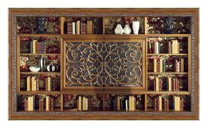 4039, Classic bookcase with TV stand