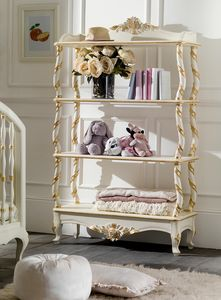 Art. 0102, Etagere in classic style, in carved wood
