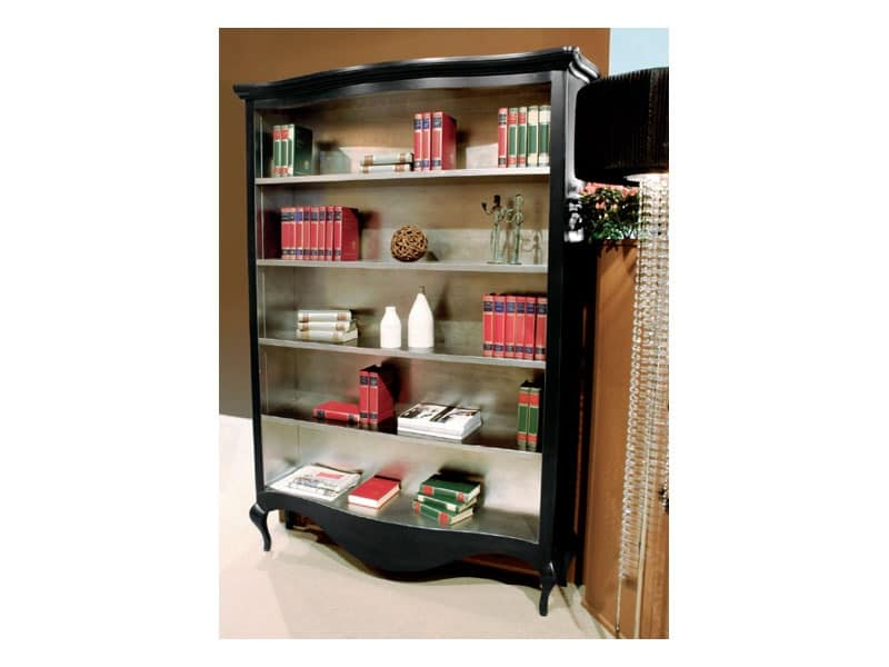 Art. 1780 Oliver, Handmade bookcase, wooden, classical style
