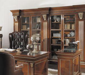 ART. 2541B, Classic cherry bookcase