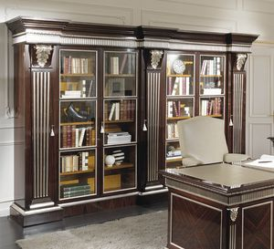 ART. 2712, Classic bookcase in rosewood