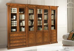 Art. 3600, Walnut bookcase