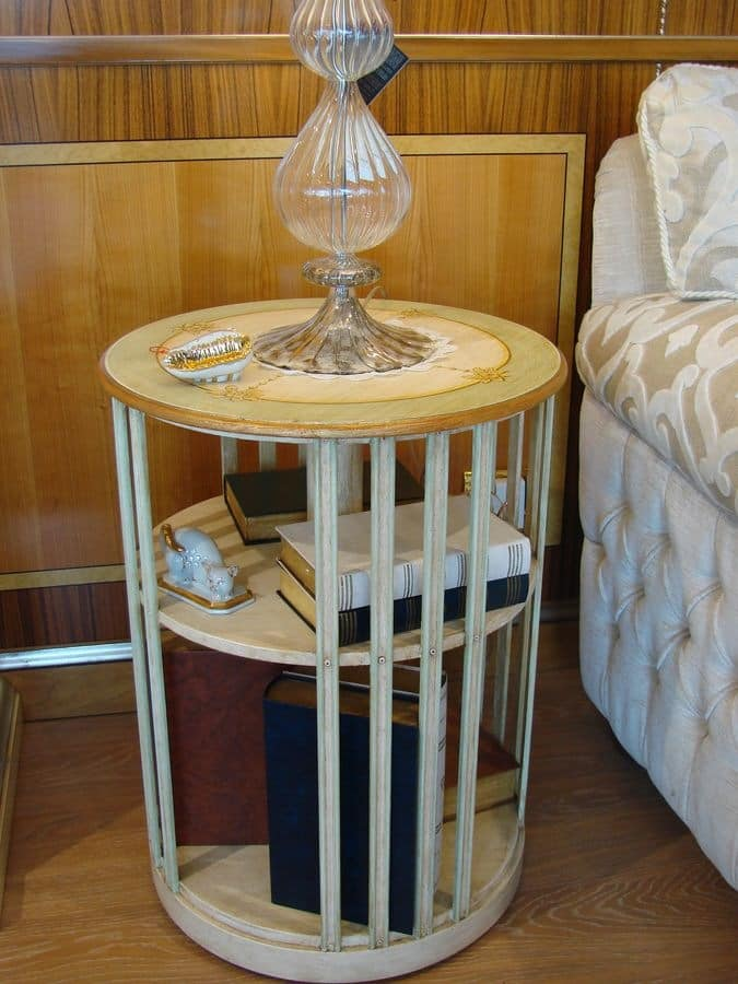 Art. 664, Revolving bookcase in wood, small size, for house