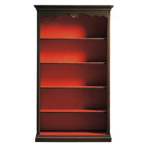 Clarissa FA.0101, Provencal bookcase decorated by hand