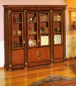 IMPERO / HOME OFFICE Bookcase, Elegant classic library for professional studio