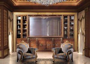 Paradise C/518/2, Classic style bookcase