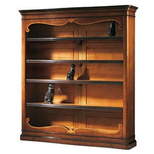 Perugino RA.0637, Outlet bookcase in classic style