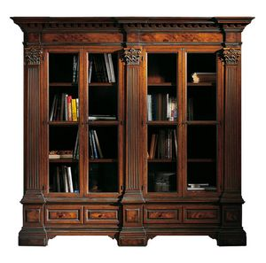 Sillano ME.0124, Classic bookcase, with Corinthian capitals