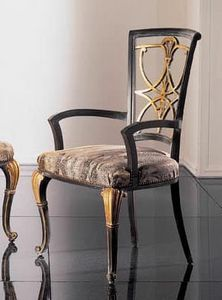 232PT, Classical chair with armrests