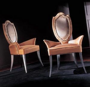 244PLI, Upholstered classic chairs