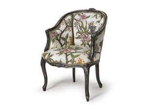 Art.302 armchair, Classic style armchair