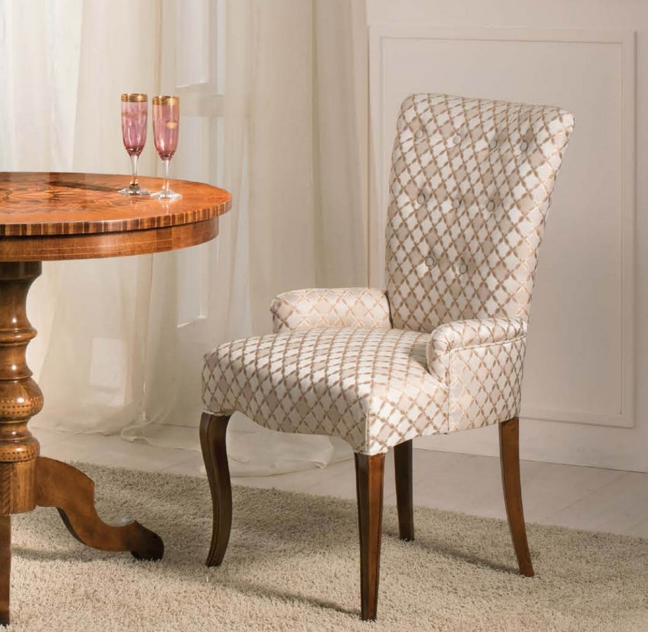 Art. 3540, Upholstered chair for dining room