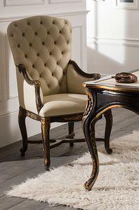 Art. 5097, Chair with capitonn� padding