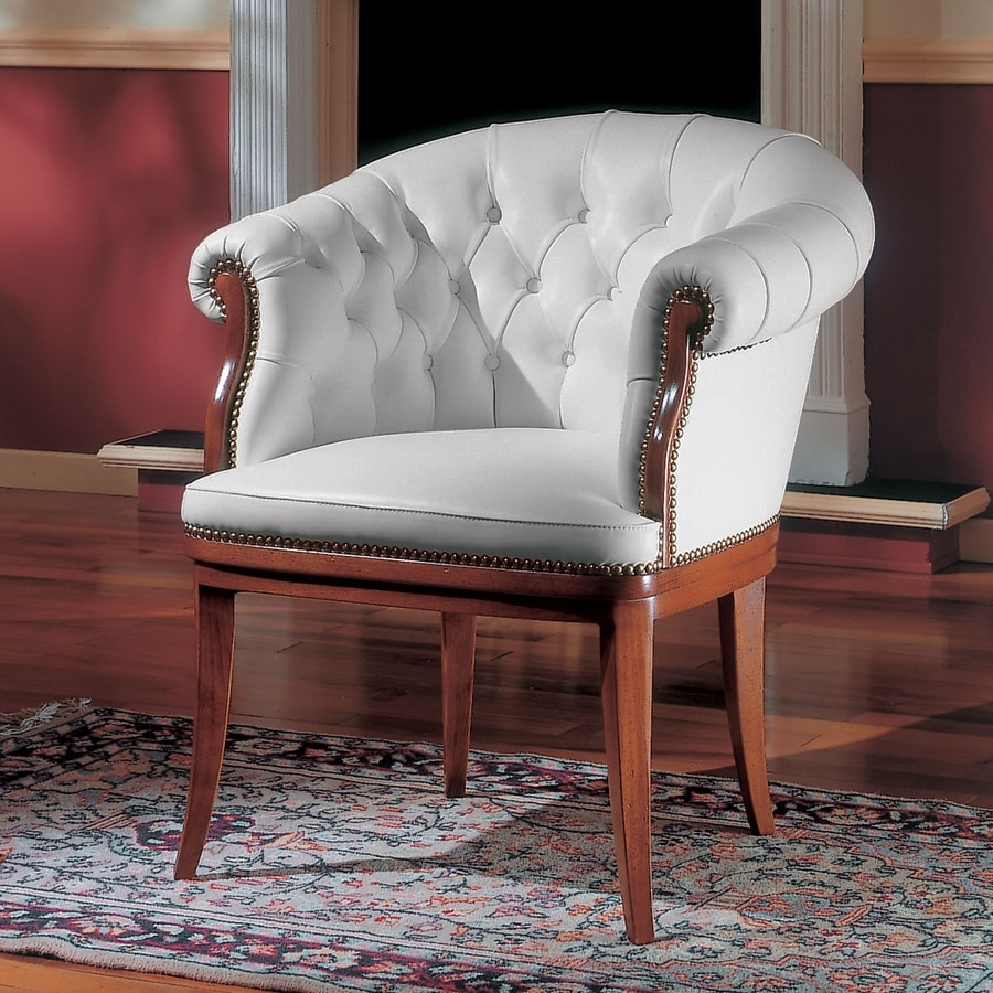 ELEGANCE, Classic chair for office clients