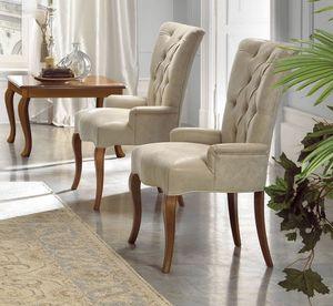 Giulietta Art. 3721, Chair with capitonn� padding