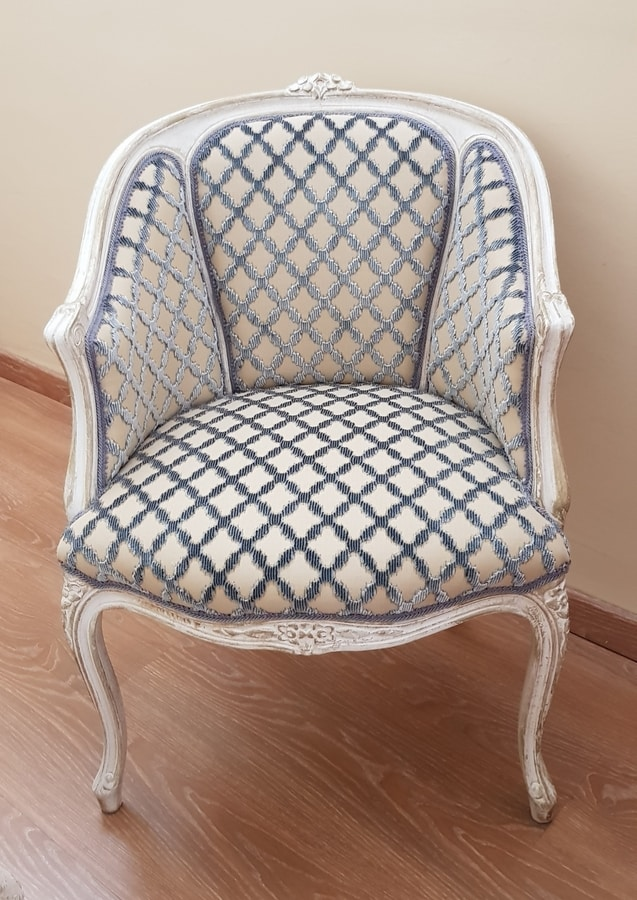 Pozzetto, Shabby chic style armchair