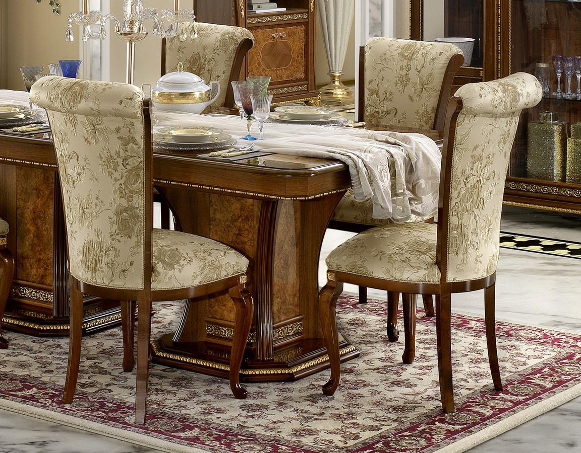 Aida chair, Classic style dining chair