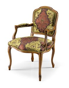 1026/A, Luxury chair with armrests