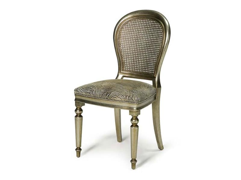 Art.152 chair, Classic style chair for dining rooms