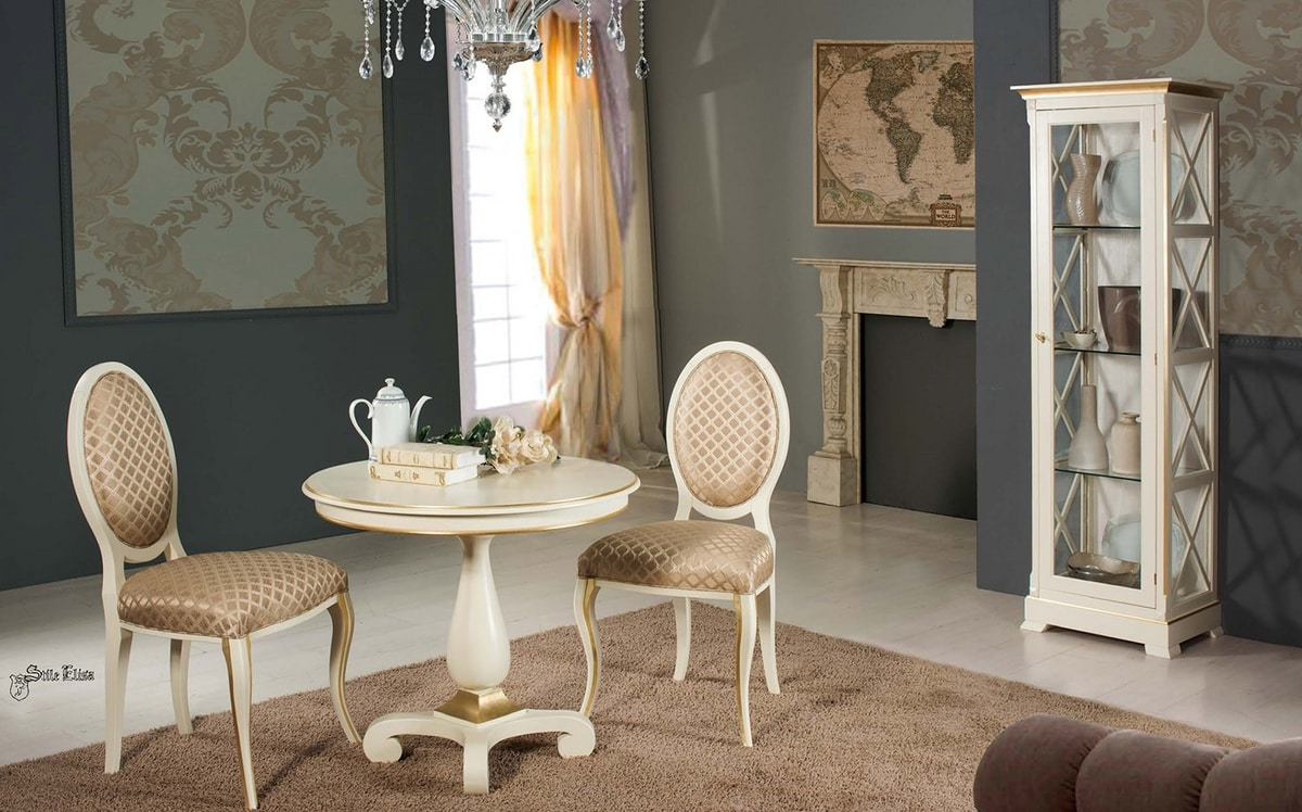 Art. 3766, Classic chair with oval back