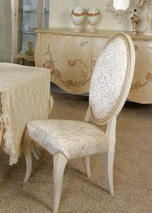 Art. 5092, Dining chair, with medallion backrest