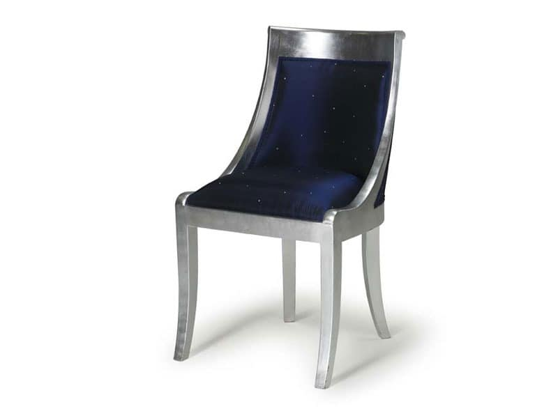 Art.534 chair, Classic style chair for dining room