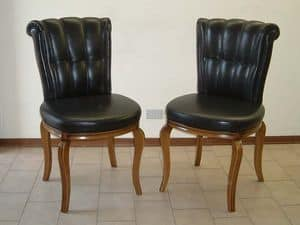 Bonn with vertical trimmings, Classic chairs, elegant and comfortable