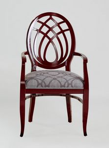 BS368A - Chair, Chair with harp backrest