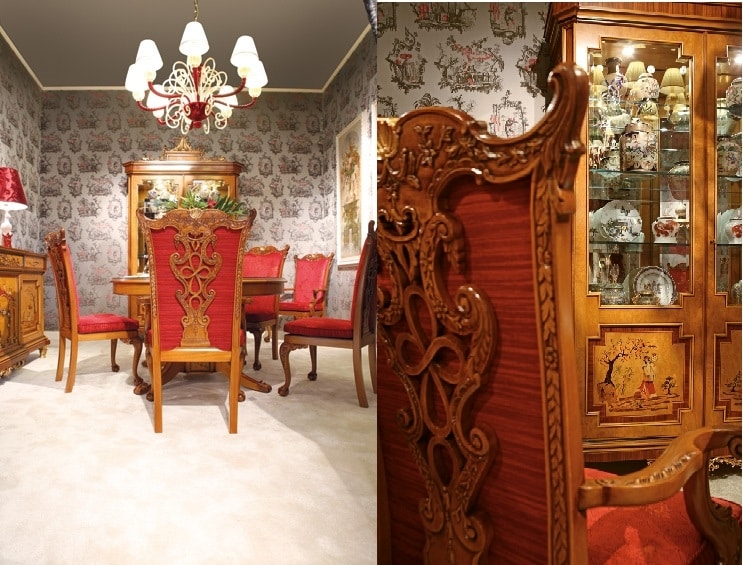 Chair 1304, Classic Chinese style luxury chair