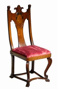 Fetovaia ME.0979, '500 Florentine walnut chair