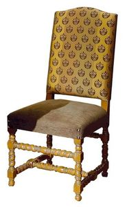 Gallicano ME.0982, '600 Italian chair, upholstered, for hotels and restaurants