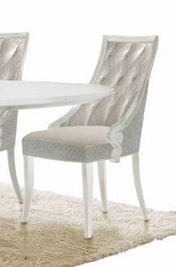 Giulietta Art. 3622, Elegant dining chair