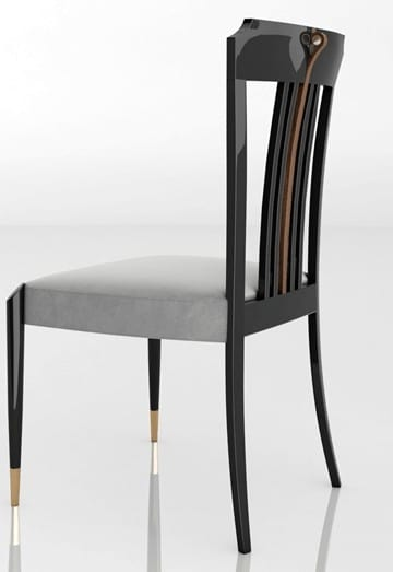 LEXINGTON AVENUE Chair, Luxury wooden chair