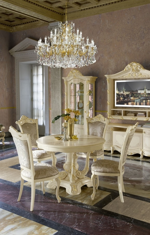 Madame Royale chair, Luxurious dining chair