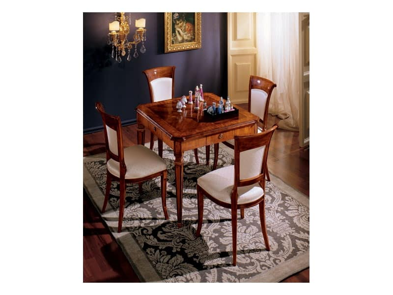 Maggiolini chairs 538, Classical style dining chair