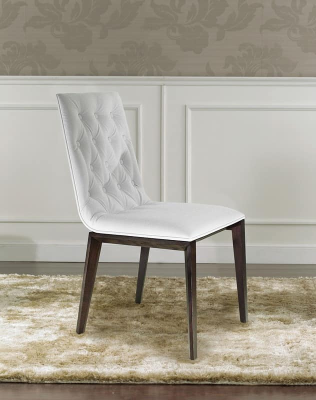 Matisse, Luxury chair with quilted padding on the back